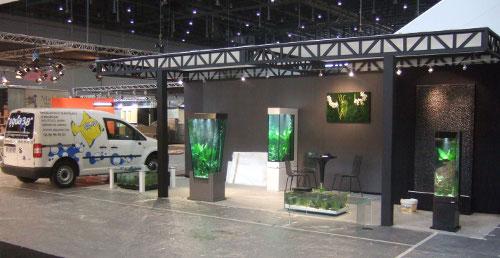 installation d'aquarium